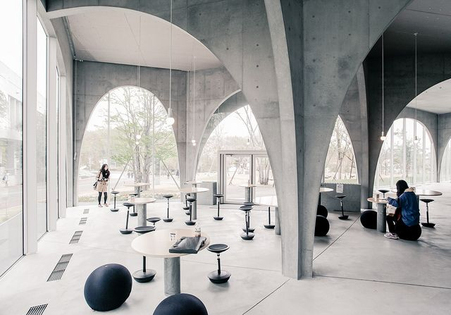 Tama Art University Library - Toyo Ito by Scott Norsworthy, via Flickr