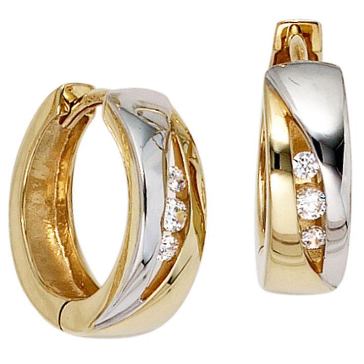 Ohrringe gold creole