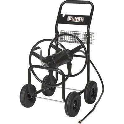 Pin it :-) Follow us :-)) zGardensupply.com is your Garden Supply Gallery ;) CLICK IMAGE TWICE for Pricing and Info :) SEE A LARGER SELECTION of hose carts at  http://zgardensupply.com/category/garden-supply-categories/watering-equipment/hose-carts/ - garden, gardening, gardening gear, garden tools  -   Wel-Bilt Hose Reel Cart – Holds 300ft. x 5/8in. Hose « zGardenSupply