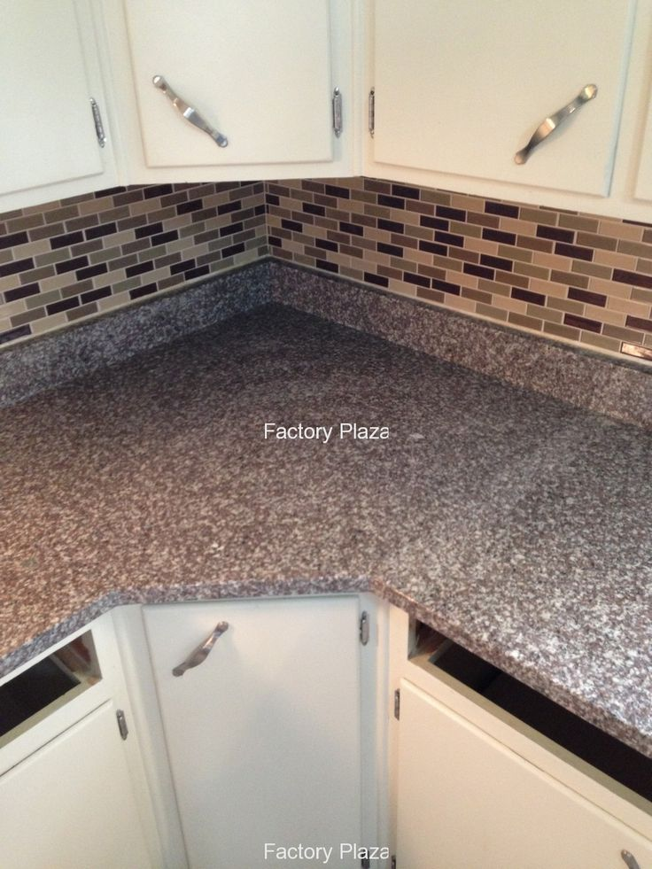 Bainbrook brown granite countertops in kitchen bainbrook for 1 inch granite countertops