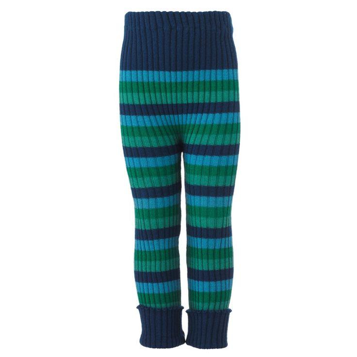 Ribbestrikket bukse, ull fra nøstebarn