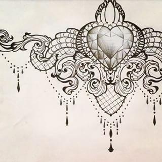 Under Breast Tattoos - Pesquisa Google