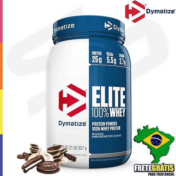 Elite 100% whey dymatize é feito com 100% da proteína do soro do leite, não tem açúcar,frutose,sal ou carboidratos adicionados. Elite 100% whey dymatize (Também no tamanho de 5lbs) oferece 24g de proteina, 5,5g de BCAA, 4g de Glutamina,2,7g de Leucina por dose, com um sabor especial e fácil de misturar na sua coqueteleira.