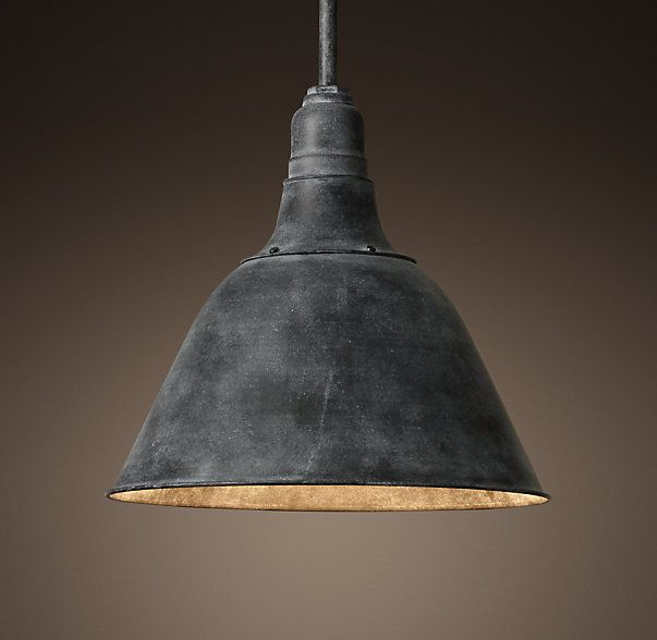 Rh 39 s vintage french farmhouse pendant the graceful yet for Farmhouse pendant lighting kitchen