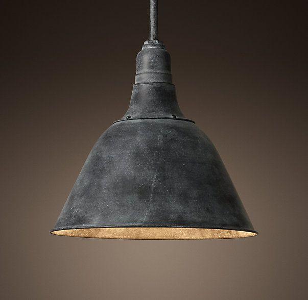 Bell Shaped Pendant Light