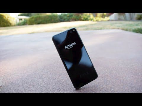 awesome Amazon Fire Phone Drop Test!