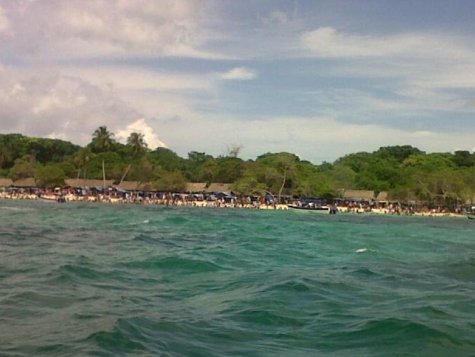 Playa Blanca. Colombia. Paraiso del caribe