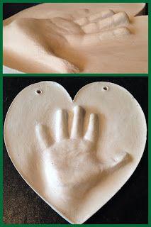 3D Handprint Gift