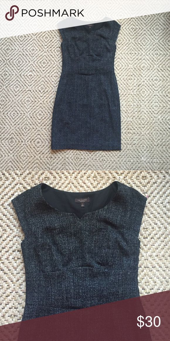 The Limited Business Professional Dress This dark gray fitted dress is perfect for the work place! The Limited Dresses