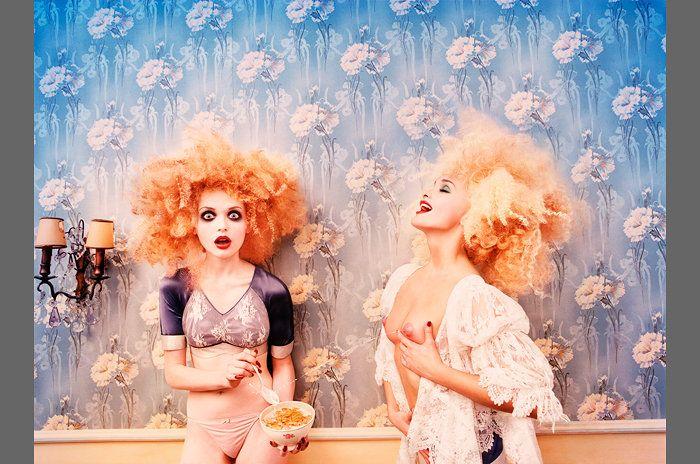 LaChapelle, Milk Maidens, 1996. Fotografiska
