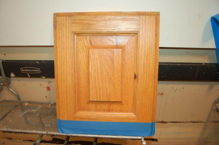 Caromal Colour Painting Oak Cabinet Door Start To Finish ...