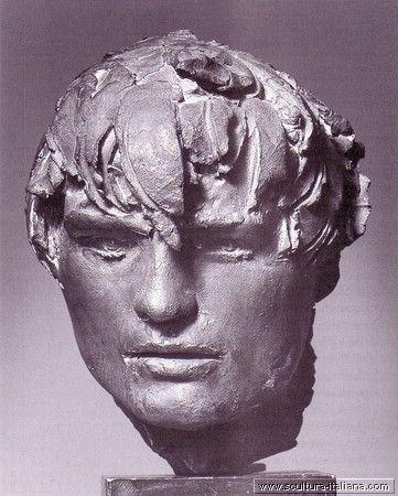 Giacomo Manzu' - Ritratto di Michael Park (Roma, Ardea, 1964) .jpg