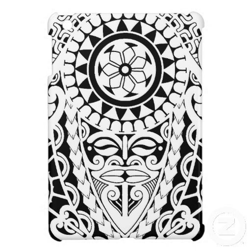 Polynesian tattoo design which is suitable for cellphone and ipad back shells.