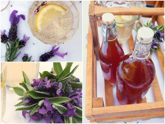 Recept na jednoduchy levanduľový sirup s fotopostupom. Namiešajte si z neho voňavú a osvižujúcu limonadu.
