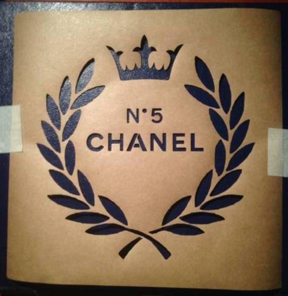 Laurel Wreath Vintage Français, style chic minable romantique, outil pour meubles, décoration de textil, projets DIY de métier différent au pochoir