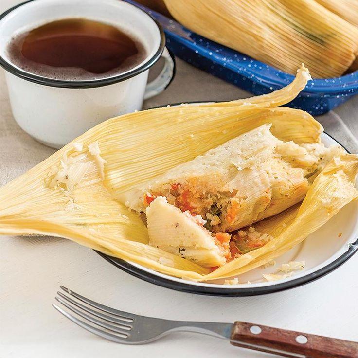 Masa para Tamales (y una sugerencia para rellenarlos de Rajas de Poblano (ya preparadas) y queso Oaxaca)