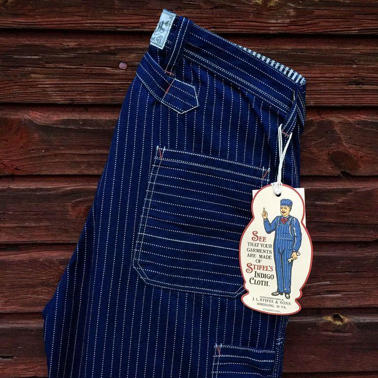 Freewheelers, Longshoreman Overalls. (made in japan, desolation row, indigo, wabash)