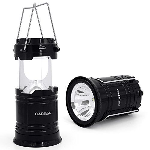 Solar Lantern, GARMAR Portable Outdoor LED Camping Lantern Flashlight, Rechargeable Bright Night Lamp for Hiking, Camping, Emergencies, Hurricanes, Outages. - http://www.the-solar-shop.com/solar-lantern-garmar-portable-outdoor-led-camping-lantern-flashlight-rechargeable-bright-night-lamp-for-hiking-camping-emergencies-hurricanes-outages/