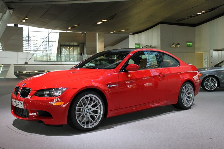 Hellrot Red Individual Color Bmw M3 E92 Coches