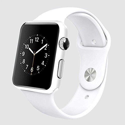 Bluetooth Smart Watch Support TF SIM Card With GPS Camera Fit for Smartphone IOS Apple iphone Android Samsung HTC Sony Blackberry 1.54 inch Touch Screen Sleep Monitor Anti-lost Alarm FM MP3 (White). 1, support the GSM (unicom and mobile 2 g) calls, can also be a bluetooth communication;. 2, synchronization, the phone book, SMS, instant message notification such as whatsapp, facebook;. 3, built-in 1.3 million pixels, support the recording, two-way lost; support bluetooth music (play, pause...