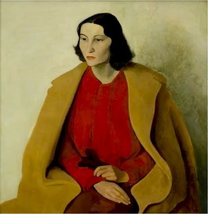 Portrait of Estelle Reed - Paul Citroen 1933