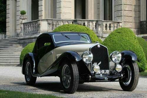 1933 Alfa Romeo 6C 1750 Gran Sport Coupe by Figoni.