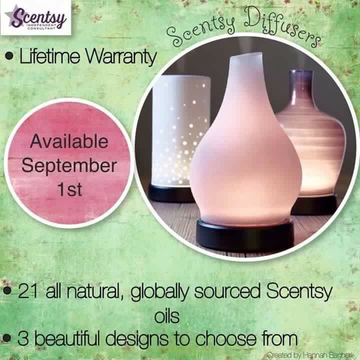 Introducing the new Scentsy diffuser!