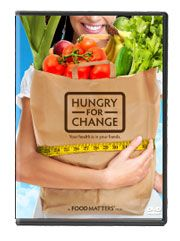 "Hungry For Change DVD. Loved this movie! Shows several interviews with people who have transformed their lives and health via a change in diet. Good ""big picture"" film on how food really does affect your health."