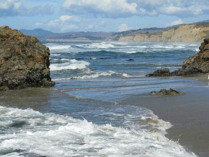 Pescadero State Beach, California