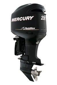 OptiMax 200  Depuis plus d'une décennie, Mercury OptiMax fait le bonheur des plaisanciers qui recherchent la vitesse, l'efficacité et la fiabilité. Notre système exclusif d'injection directe de carburant permet de réduire la consommation d'essence, d'obtenir la fiabilité et la polyvalence. Ce sont les raisons pour lesquelles les moteurs OptiMax sont les leaders des moteurs hors-bord à injection directe.