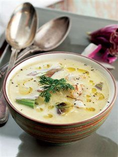 Enginarlı bakla çorbası