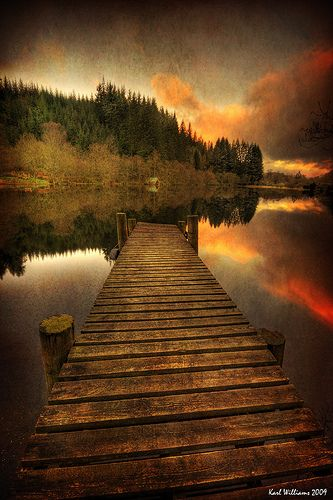 Loch Ard, Trossachs, Scotland. Unbelievably peaceful.. the only sound was the singing of the birds and the click of the shutter.
