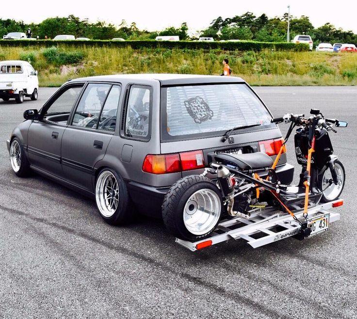 #Honda #Civic_Ef_Wagon #Ruckus #Slammed #Stance #Modified #JDM