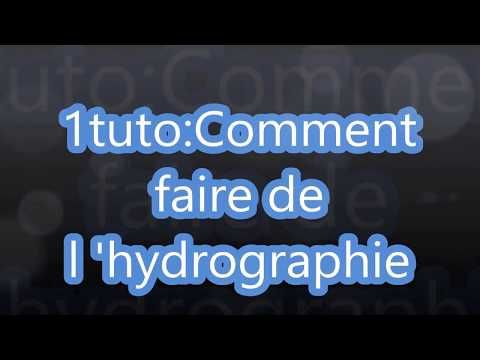Tuto1:Comment faire de l'hydrographie  #hydrographie #tuto1