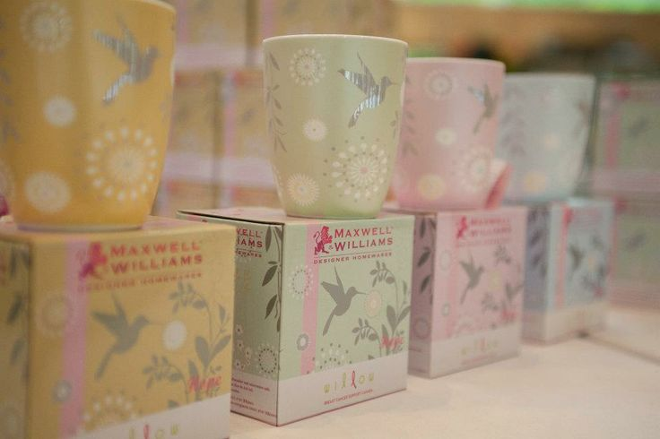 Willow Mugs from Maxwell Williams