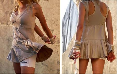Adidas Stella McCartney Wimbledon 2008 Kirilenko Tennis Dress.  SO elegant.