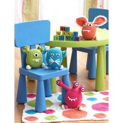 Monsters, #crochet, free pattern, amigurumi, stuffed toy, #haken, gratis patroon (Engels), monsters, knuffel, speelgoed