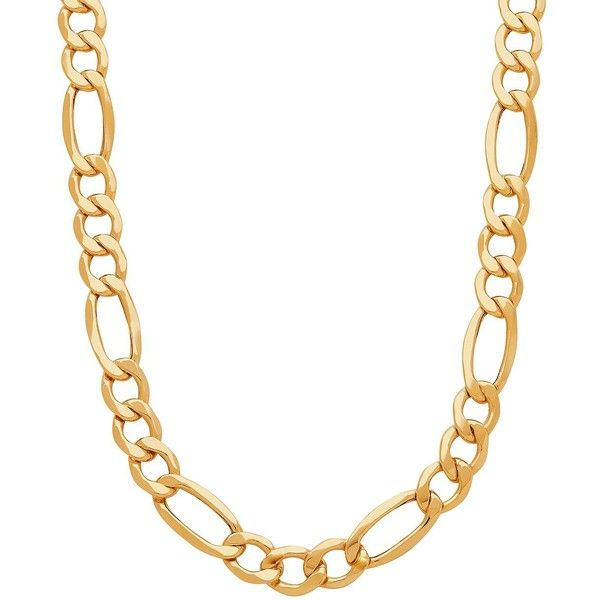 Lord & Taylor 14k Yellow Gold Chain-Link Neckalce (6,565 CAD) ❤ liked on Polyvore featuring men's fashion, men's jewelry, men's necklaces, yellow gold, mens chain link necklace, 14k gold mens necklace, mens gold necklace, mens yellow gold cross necklace and mens gold link chain necklace