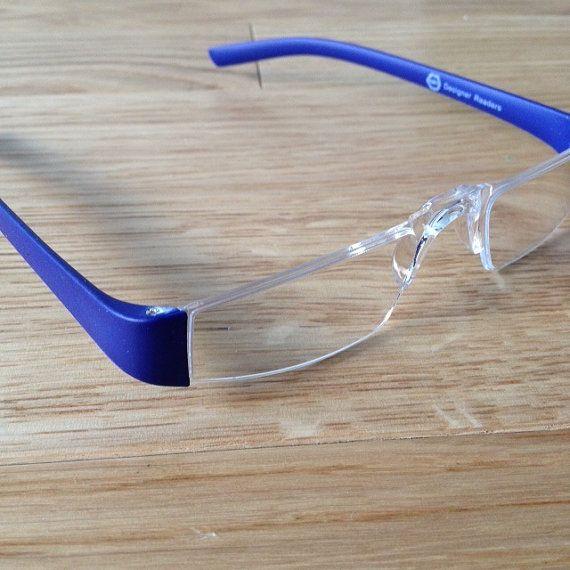Royal Blue Glasses Frames : Porsche Style Reading Glasses, Matte Royal Blue Reading ...