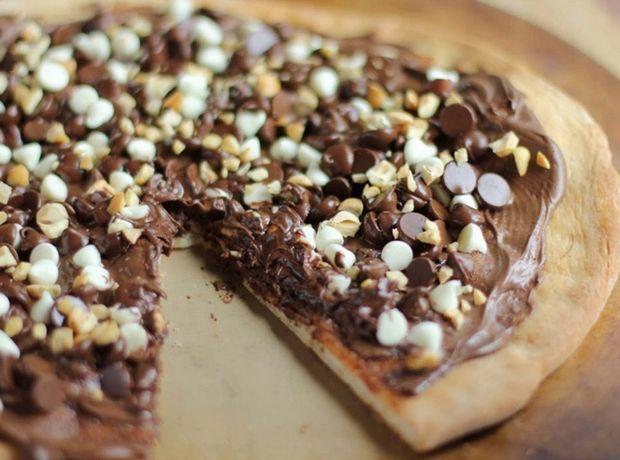 Η συνταγή της εβδομάδας: Πίτσα με νουτέλα