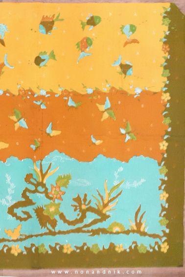 Batik Tulis - BLU 007 IDR 350.000