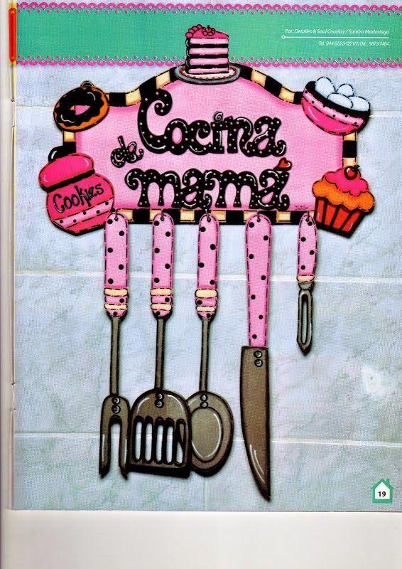 Revistas de manualidades gratis manualidades para la - Pintura para cocinas ...