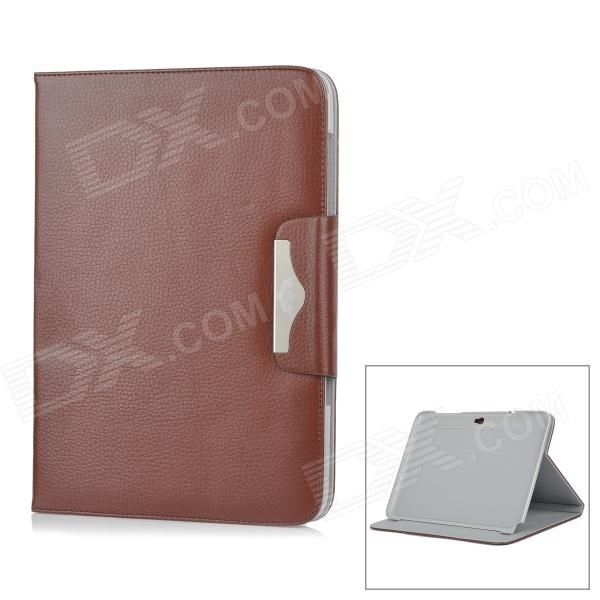 Quantity: 1 Piece; Color: Coffee; Material: PU leather + plastic; Style: Cases; Type: For Tablets; Compatible Model: Samsung Galaxy Note 10.1 GT-N8000; Other Features: Protects your device from scratches, dust and shock; Packing List: 1 x Protective case; http://j.mp/1q1xlax