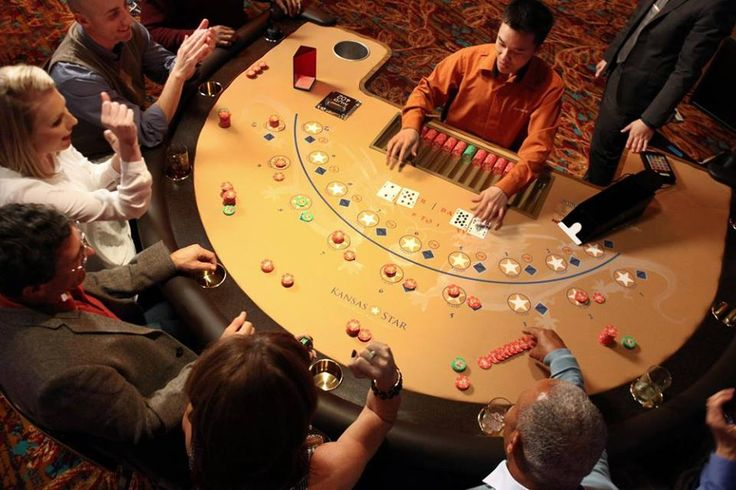 We are DIRECTLY connected to the Kansas Star Casino through our lobby!!  Choose from Craps, Roulette, no-ante Blackjack, Three Card Poker, Ultimate Texas Hold Em, Let it Ride, Mississippi Stud, a 10-table poker room, plus an Asian Gaming Pit with Fortune Pai Gow, Mini, and Midi Baccarat.  Let the games begin!!!