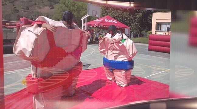 Trajes de luchadores de sumo, para una divertida competencia!