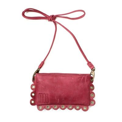 Moo Frilly Bag Bordeaux