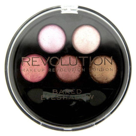 Makeup Revolution 5 Baked Chocolate Deluxe - Oogschaduw Palet