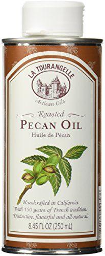 La Tourangelle Roasted Pecan Oil, 8.45-Ounce Tin -- Tried it! Love it! : baking desserts recipes