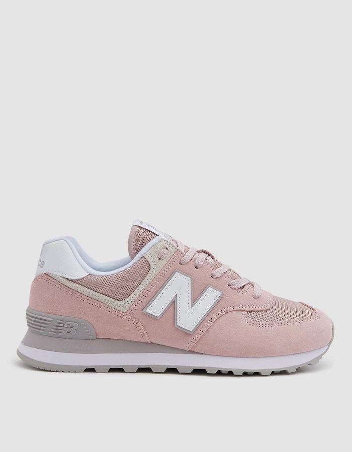 new balance 574 sneaker donna rosa