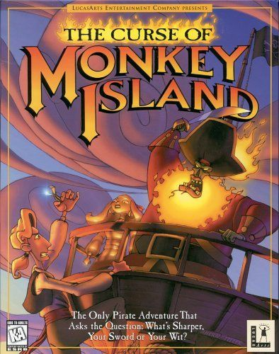 The Curse of Monkey Island - One of my very favorite games. <3